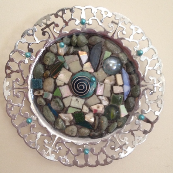 Small mosaic wall hanging